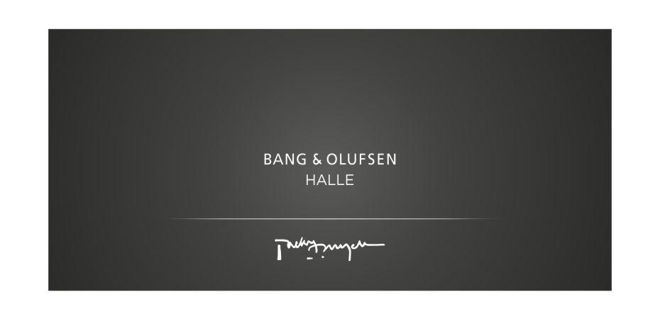 B&O Halle Uitnodiging achterzijde