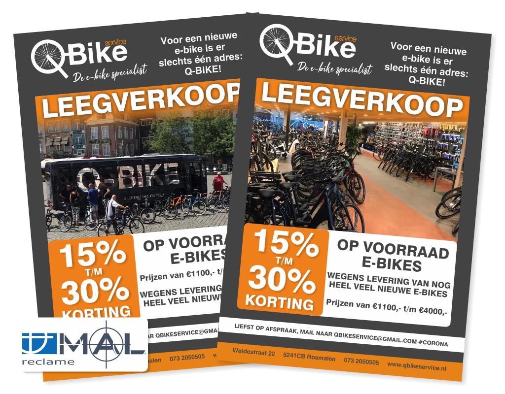 Q-Bike flyer leegverkoop